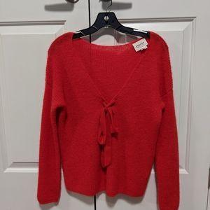 Sézane Red sweater